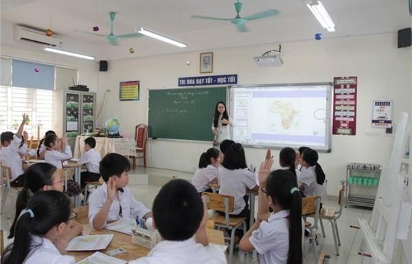 Nghiêm cấm việc tuyển chọn học sinh tham gia tiết dự thi giáo viên dạy giỏi