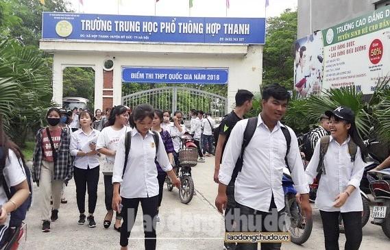 Xử lý vi phạm trong kỳ thi THPT quốc gia năm 2018 tại Sơn La