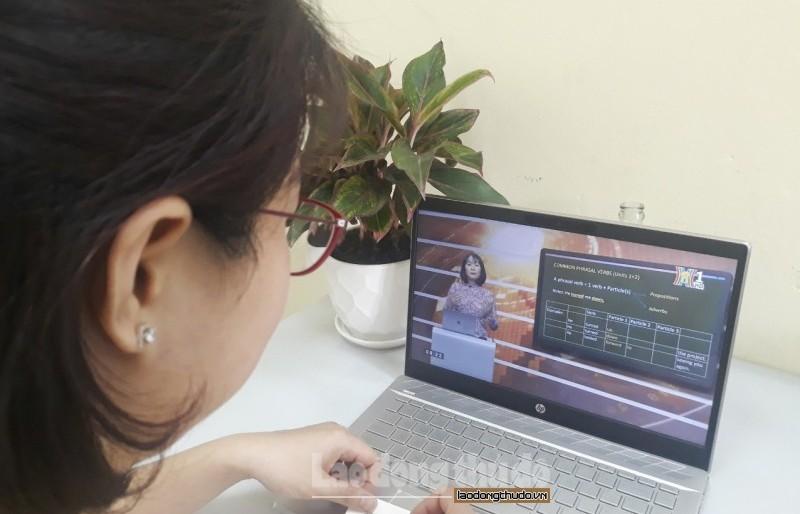 Chương Mỹ xây dựng kế hoạch tổ chức dạy học qua internet, trên truyền hình