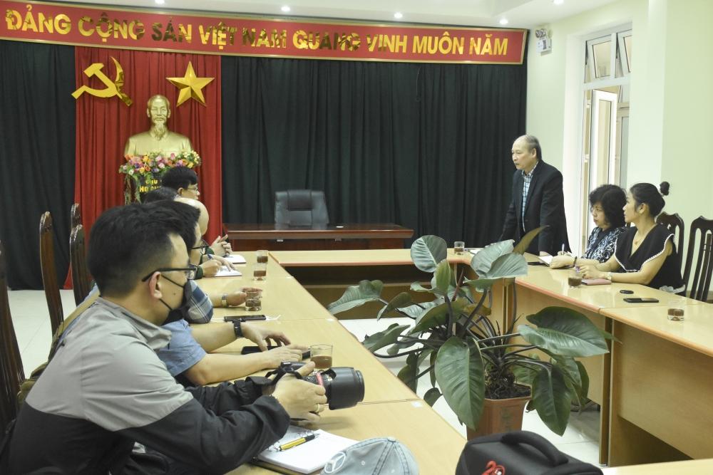 Phóng viên các cơ quan báo chí Thủ đô đi thực tế tại một số đồn Biên phòng tỉnh Điện Biên