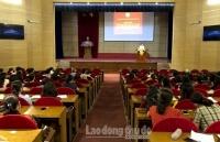 LĐLĐ huyện Sóc Sơn: Tổ chức học tập chuyên đề năm 2019