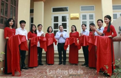 Khánh thành Nhà công vụ giáo viên Trường THPT Minh Quang
