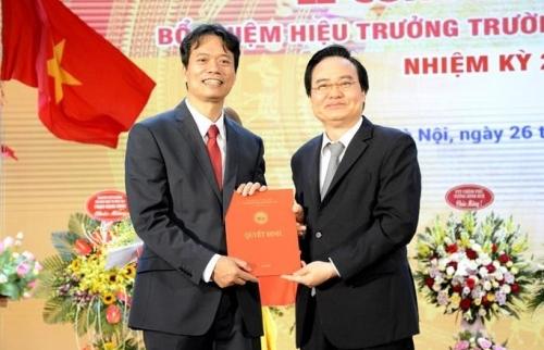 Bổ nhiệm Hiệu trưởng Trường Đại học Kinh tế Quốc dân