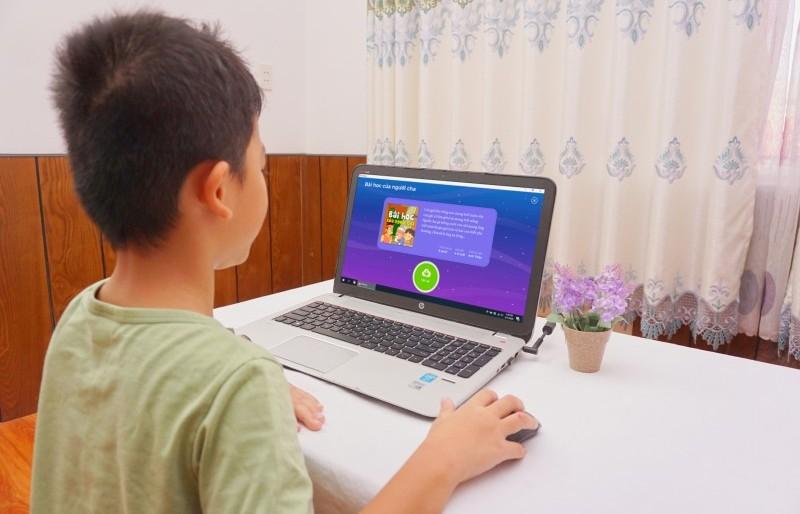 Ứng dụng hỗ trợ học sinh học Toán và Tiếng Việt trong thời gian nghỉ phòng dịch