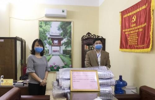 Trường Mầm non Liên Bạt chung tay đẩy lùi dịch bệnh Covid-19