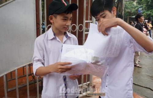 Lý do Hà Nội bỏ môn thi thứ tư trong kỳ thi tuyển sinh vào lớp 10