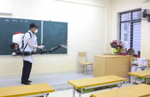 Tiêu chí đánh giá mức độ an toàn phòng, chống dịch Covid-19 trong trường học