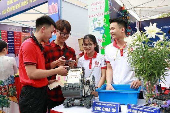 Nhiều hoạt động tại Ngày hội Công nghệ thông tin ngành Giáo dục và Đào tạo Hà Nội lần thứ V
