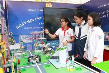 Nhiều dấu ấn tại Ngày hội Công nghệ thông tin ngành Giáo dục và Đào tạo Hà Nội