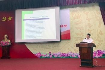 Tập huấn chuyên đề Chính sách - Pháp luật năm 2021