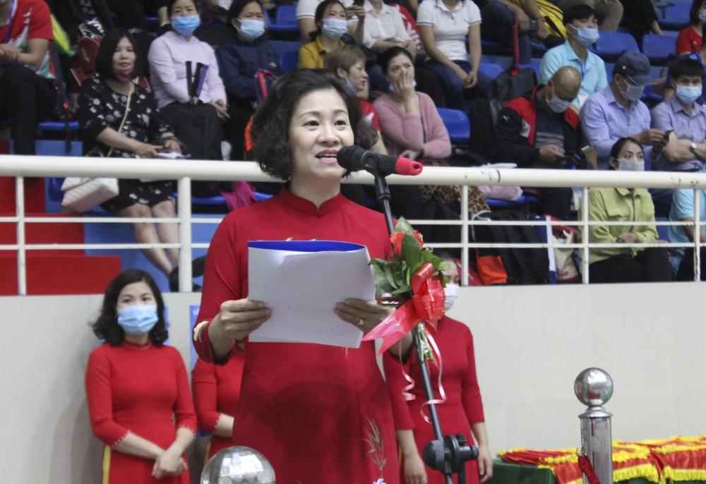 Khai mạc Giải Cầu lông cán bộ, giáo viên, nhân viên năm học 2020 - 2021