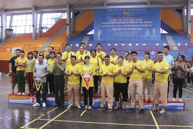 Tổ chức thành công Hội thao lần thứ VIII