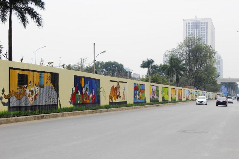 Độc đáo con đường tranh Hồ Tùng Mậu