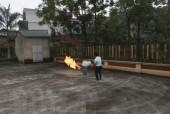 Tập huấn kỹ năng phòng cháy, chữa cháy cho cán bộ làm công tác mặt trận