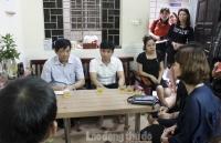 Thăm hỏi gia đình nữ giáo viên tử vong do tai nạn giao thông tại hầm Kim Liên