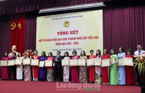 Hà Nội: Tổng kết Hội thi giáo viên dạy giỏi thành phố cấp Tiểu học