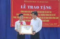 Tặng bằng khen cho nam sinh Thanh Hóa dũng cảm cứu 3 học sinh đuối nước