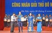 Trực tuyến hình ảnh: Lễ tuyên dương Công nhân giỏi Thủ đô năm 2019