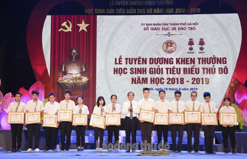 Hà Nội: Tuyên dương học sinh giỏi tiêu biểu năm học 2018 - 2019