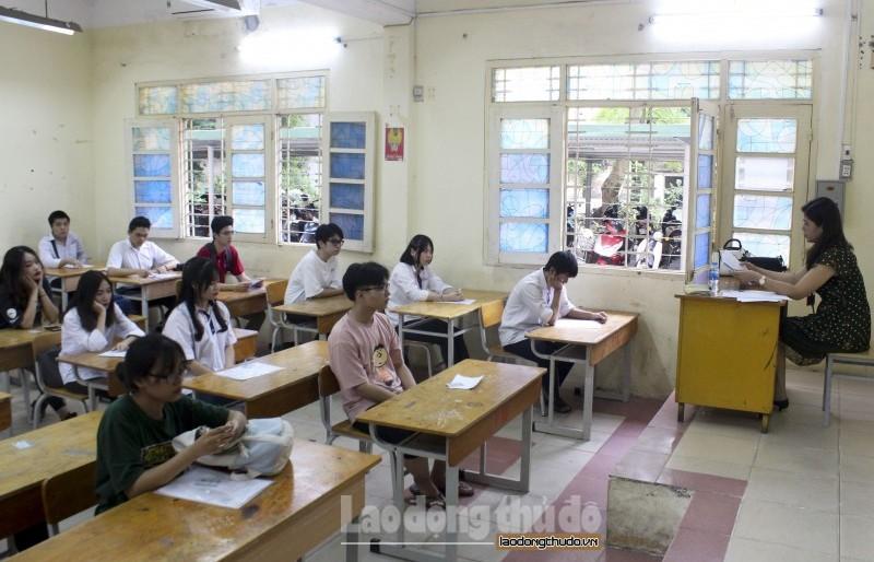 Kỳ thi tốt nghiệp Trung học phổ thông được tổ chức trong 2 ngày