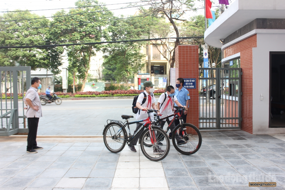 Trường học Hà Nội tăng cường các biện pháp phòng, chống dịch Covid-19
