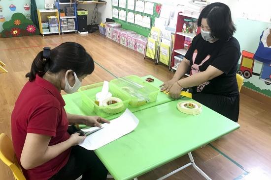 Ngành Giáo dục và Đào tạo quận Ba Đình chung tay đẩy lùi dịch bệnh Covid-19