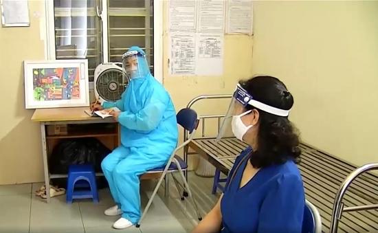 Diễn tập phương án xử lý các tình huống phòng, chống dịch Covid-19 trong ngày bầu cử
