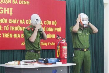 Tích cực xây dựng phong trào toàn dân tham gia phòng cháy, chữa cháy
