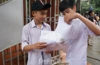 Hà Nội chuẩn bị công bố kết quả thi lớp 10