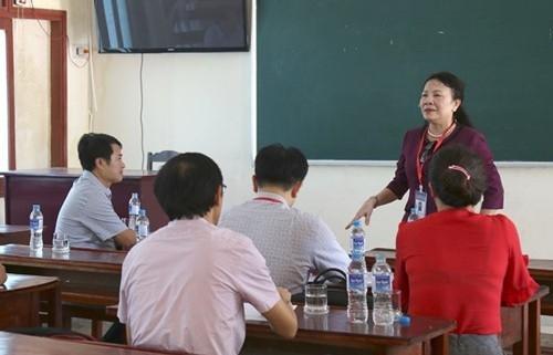 Kiểm tra công tác chuẩn bị thi THPT quốc gia 2019 tại các tỉnh miền Trung