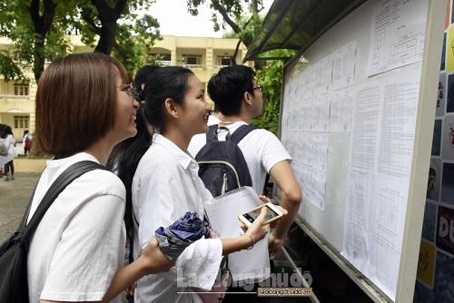 Hơn 887.000 thí sinh làm thủ tục dự thi THPT quốc gia