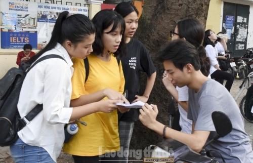 Không thông báo kết quả xét tuyển, trúng tuyển khi người học chưa tốt nghiệp THPT