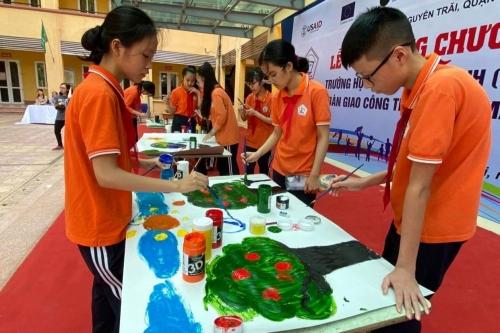 Trường học đầu tiên của Hà Nội được hỗ trợ công trình điện mặt trời mái nhà