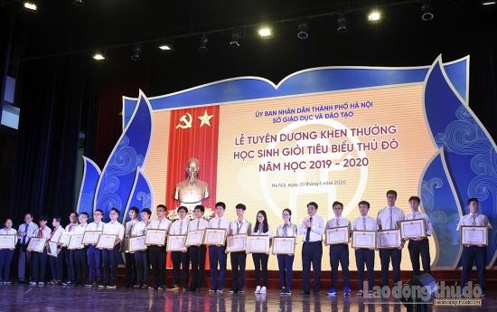 Tuyên dương 509 học sinh giỏi tiêu biểu Thủ đô năm học 2019 - 2020