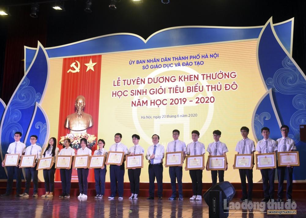 tuyen duong 509 hoc sinh gioi tieu bieu thu do nam hoc 2019 2020