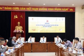"""Họp báo giải báo chí toàn quốc """"Vì sự nghiệp Giáo dục Việt Nam"""" năm 2020"""