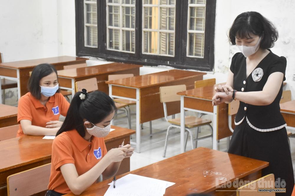Quận Ba Đình: Diễn tập công tác phục vụ kỳ thi tuyển sinh vào lớp 10
