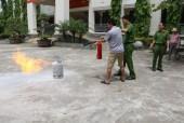 Tập huấn  phòng cháy, chữa cháy cho chủ các xưởng sản xuất tư nhân