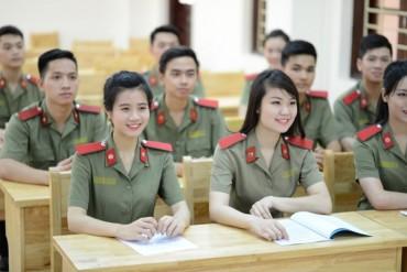 Các trường công an công bố điểm sàn xét tuyển năm 2018