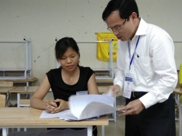 Không phát hiện bất thường về điểm thi tại Hòa Bình