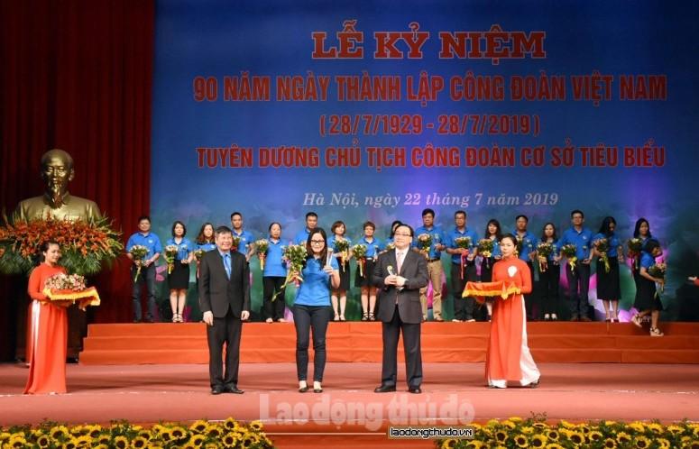 Toàn cảnh hình ảnh theo thời gian: Lễ Kỷ niệm 90 năm ngày thành lập Công đoàn Việt Nam