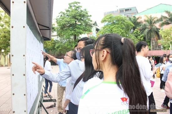Hà Nội: Gần 89.000 thí sinh làm thủ tục dự thi tuyển sinh vào lớp 10
