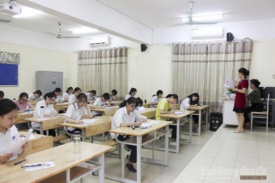 Hà Nội tăng cường các biện pháp đảm bảo an toàn cho kỳ thi tốt nghiệp Trung học phổ thông