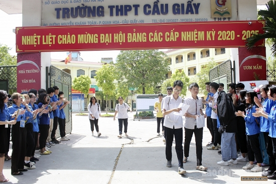 Hà Nội: 4 thí sinh vi phạm Quy chế thi trong buổi thi môn Toán