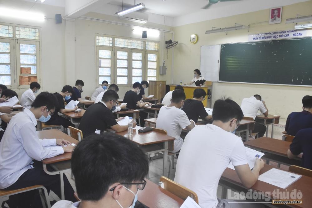 993.561 thí sinh đến làm thủ tục dự thi tốt nghiệp Trung học phổ thông năm 2021 đợt 1