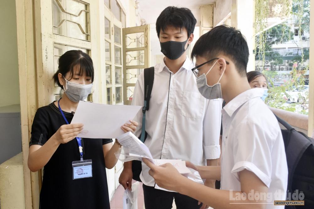 Hà Nội: Nhận đơn đăng ký dự thi đợt 2 kỳ thi tốt nghiệp Trung học phổ thông đến trước 15h ngày 20/7
