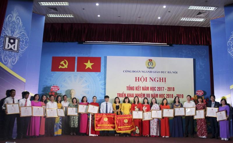 Công đoàn ngành Giáo dục Hà Nội triển khai hoạt động trong năm học mới