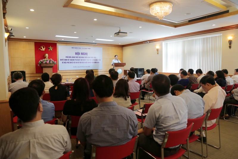 Tập huấn phương pháp tổ chức hoạt động khởi nghiệp trong các cơ sở đào tạo