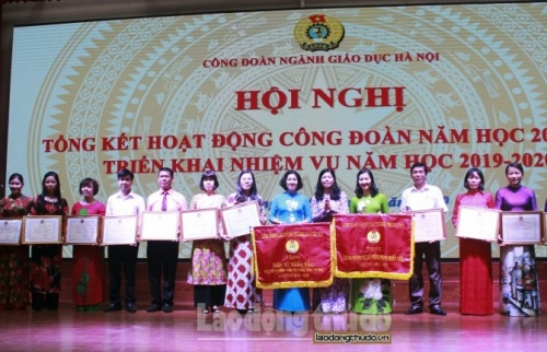 Công đoàn ngành Giáo dục Hà Nội triển khai nhiệm vụ trong năm học mới