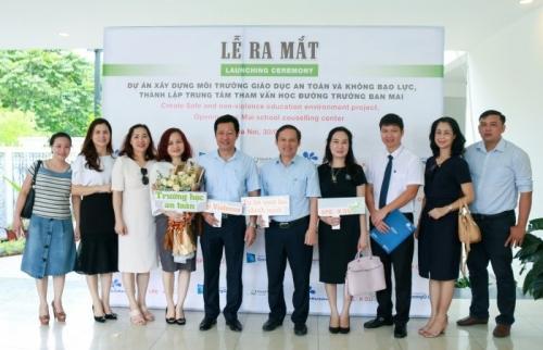 Ra mắt Trung tâm Tham vấn học đường tại Trường THCS - THPT Ban Mai